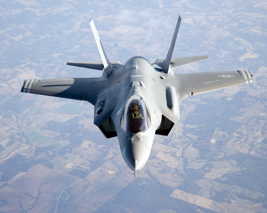 The First Squadron of F-35A Has Entered Service in the US Air Force