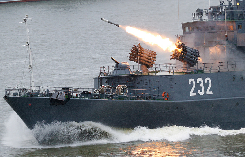 Russian Warships with Kalibr-NK to Linger near Syrian Coasts