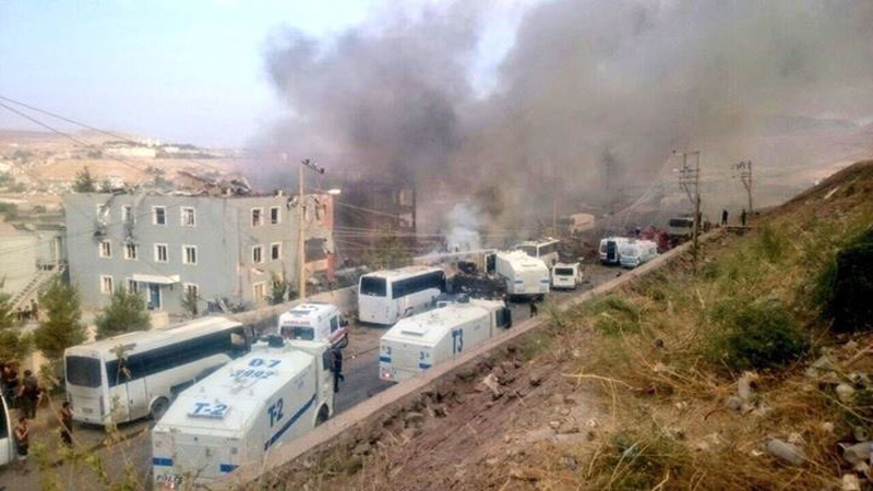 Terror Attacks in Turkey's Southeast Leading to Further Involvement of Turkish Military into Syrian War