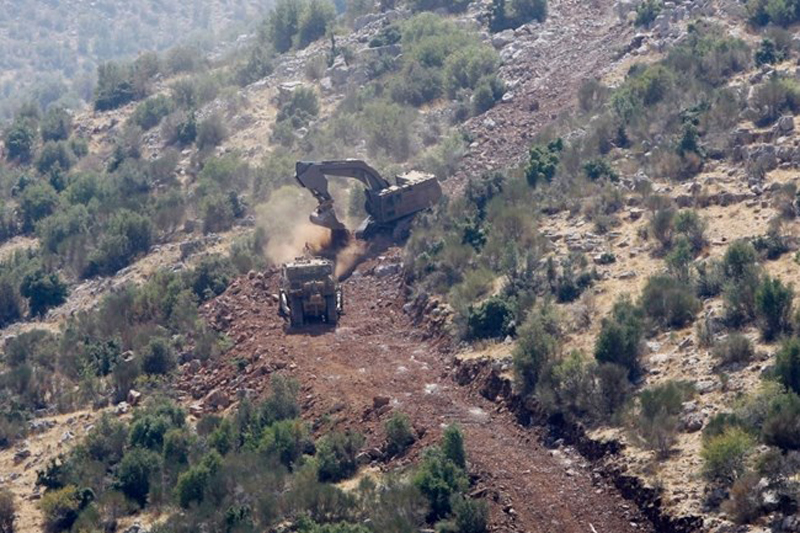 Hezbollah Warns Israel Against Road Building in Israeli-Occupied Lebanese Territory