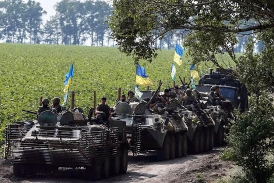 DPR Intelligence: Kiev Forms Shock Group of 60 Units of Military Equipment near Volnovaha