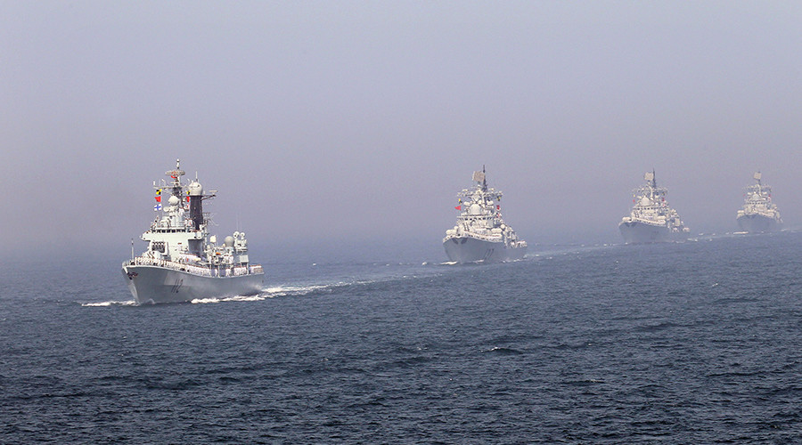 China Builds Pier for War Ships near Disputed Islands in East China Sea
