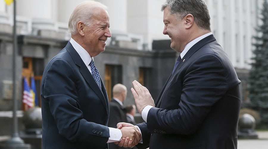 Ukrainian Independence: US Vice President Joe Biden 'Ordered' Poroshenko to Fire the Chief Prosecutor