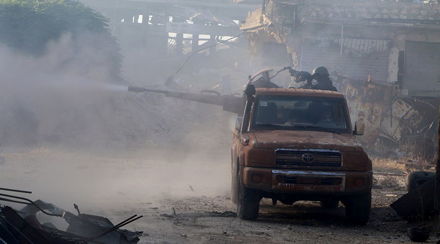 Russia: US Was Warned before Chemical Attack by Militants in Aleppo