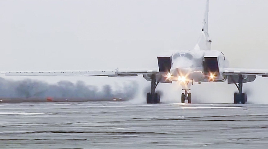 Russian Tu-22M3 Bombers Devastate ISIS from Iran's Hamadan Air Base (Video)