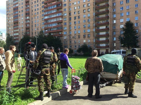 Special Operation against North Caucasus Terrorists in Russia's St Petersburg - Explosions Reported (Photos)