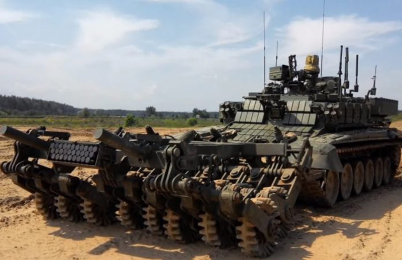 Tests of New Russian Robot Minesweeper Vehicle Prohod-T Are Completed (Photo & Video)