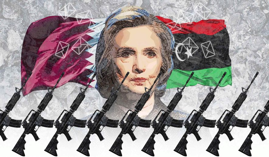 Media Builds Up Enemies For Hillary's Wars