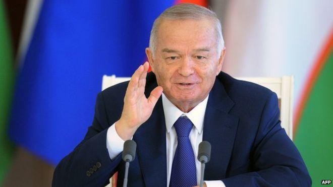Uzbek President Islam Karimov in Hospital