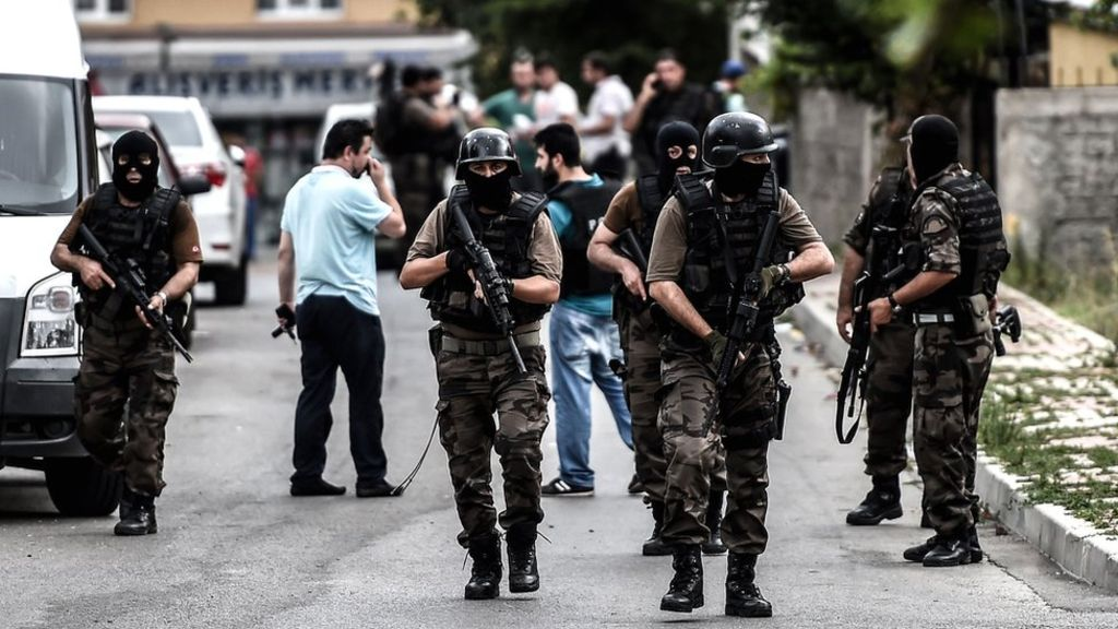Turkey's Prime Minister Announces Increased Terrorist Threat in Country