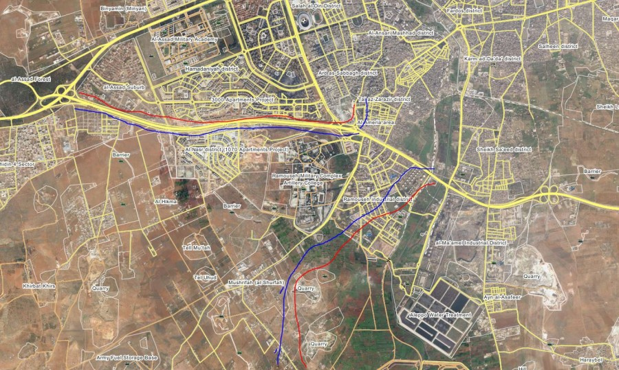 Overview of Military Situation in Aleppo City (Maps, Videos)