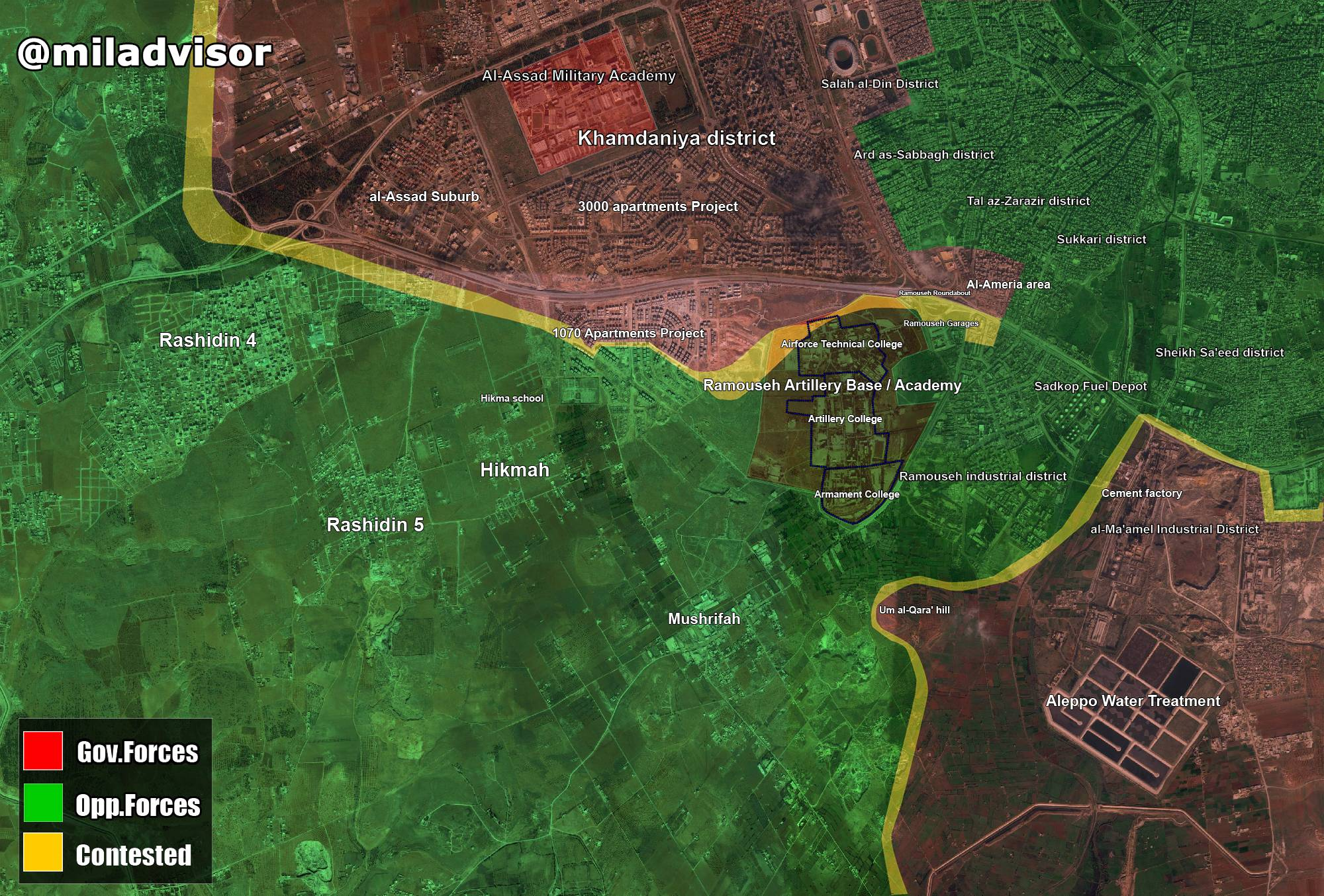 Detailed Look at the Battle for Aleppo City, August 24 (Maps, Videos, Photos)