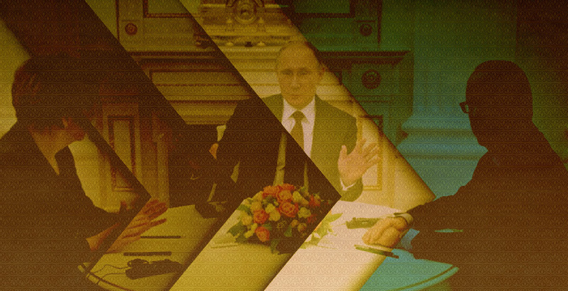 Putin, Merkel and Hollande: Trilateral Meeting at G20 Cancelled