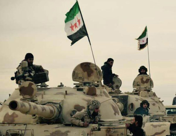 ISIS Smashes CIA-Backed New Syrian Army near Syrian-Iraqi Border