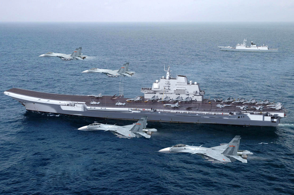 Chinese Liaoning Aircraft Carrier Shows Its Growing Combat Capabilities