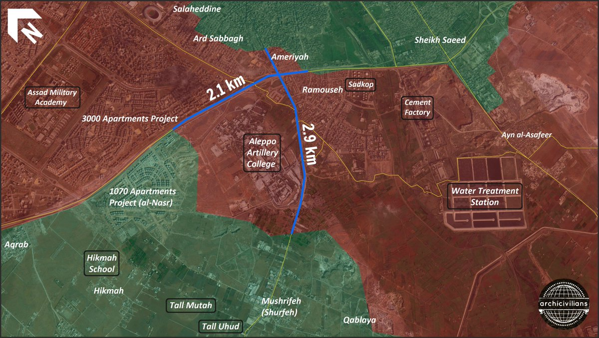 Aleppo Artillery Base - The Site that Jihadists Need to Overrun to Break Aleppo Siege