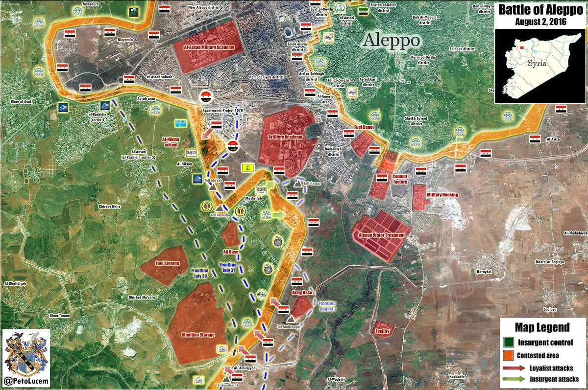 Syrian Army Seeking to Flank Jihadi Factions in Southern Aleppo