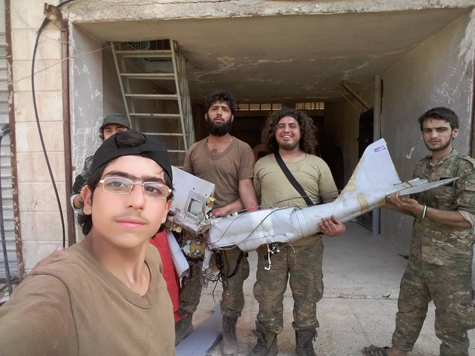 Russian UAV Crashed in Eastern Part of Aleppo City