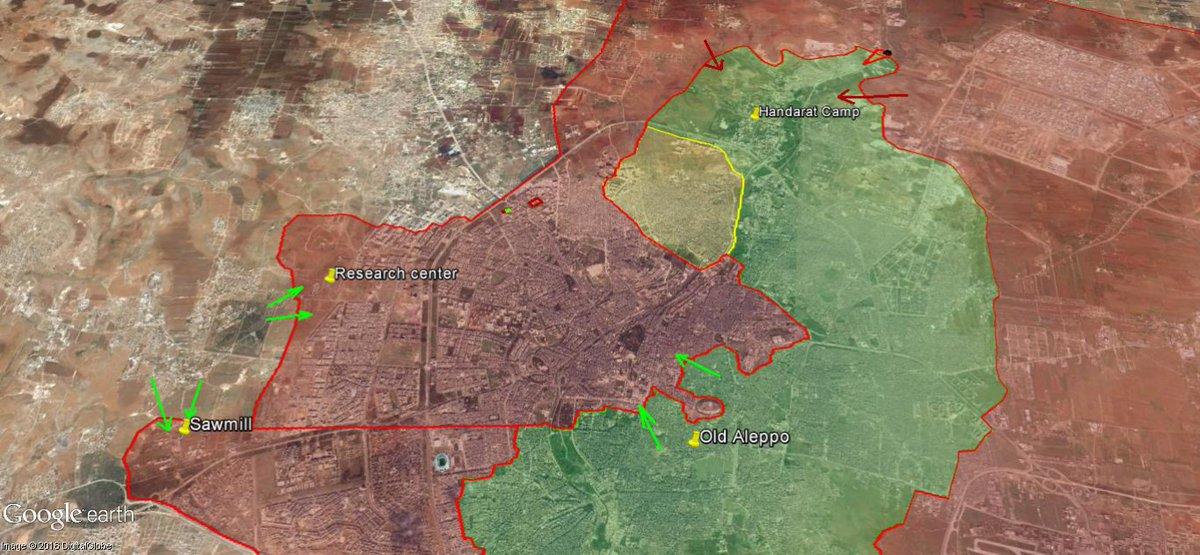 Militants Launch New Phase of Their Attack to Lift Siege from Eastern Aleppo