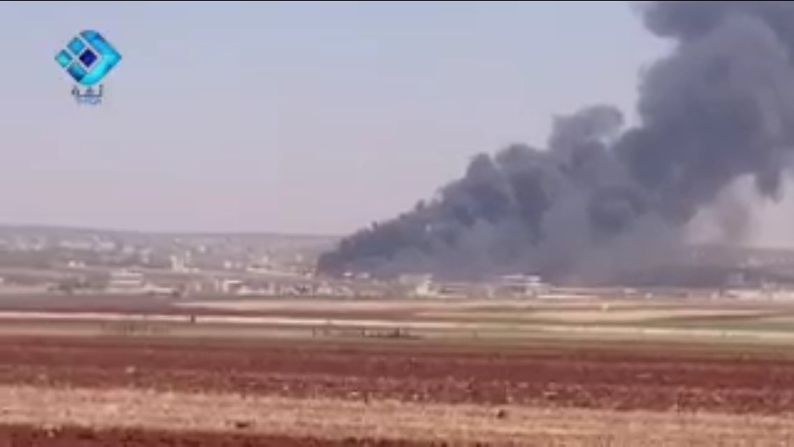 Syrian and Russian Air Forces Carry Out Massive Air Strikes in Aleppo Province (Photos)