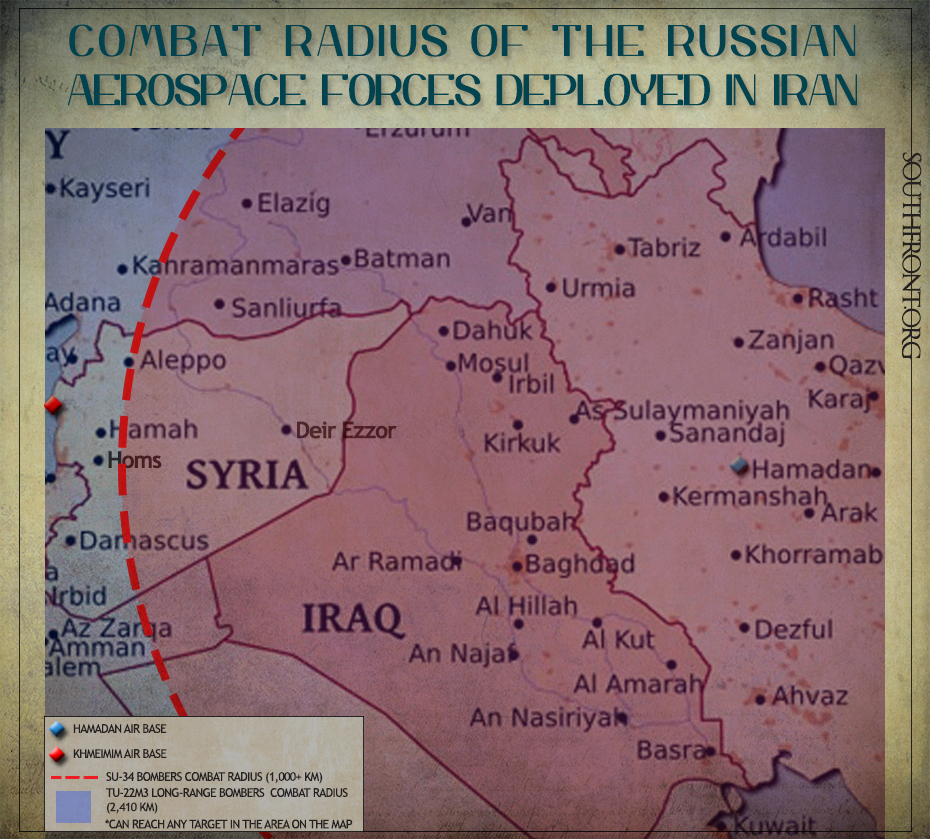 Explaining with Maps: Why Does Russia Need Air Base in Iran?