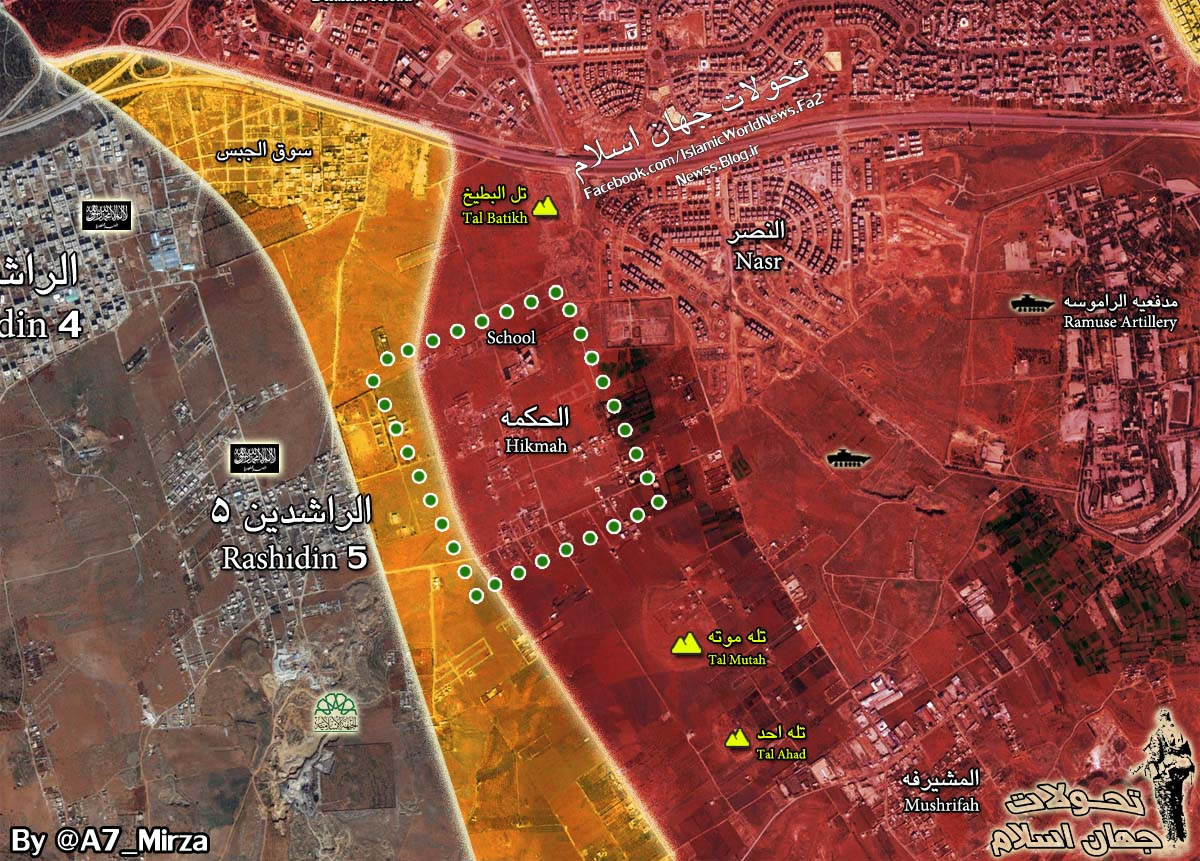 Heavy Clashes Erupt in Aleppo as Jihadists Attempt to Break Syrian Army Defenses