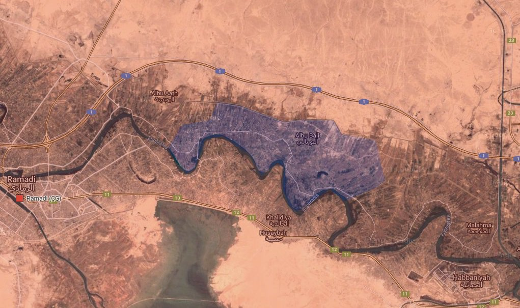 Iraqi Security Forces Seize Another Border Crossing with Syria, More Areas near Ramadi