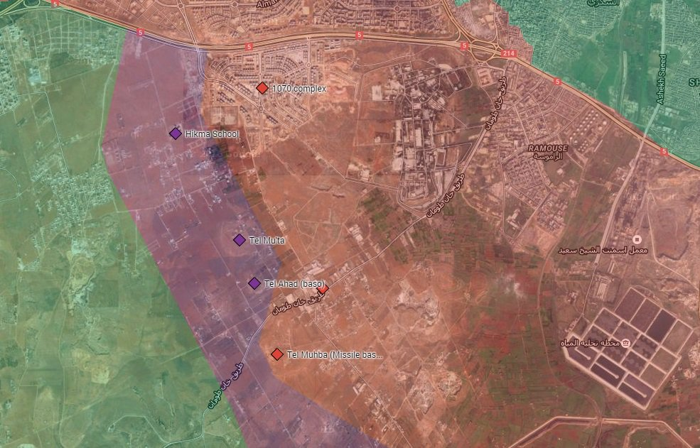 Syrian Army Regains Several Positions in Southern Aleppo
