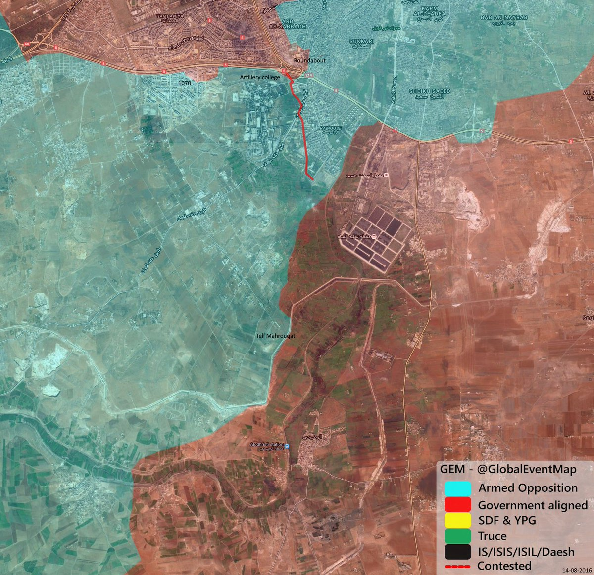 Pro-Government Forces Launch Fresh Advance in Southwestern Aleppo