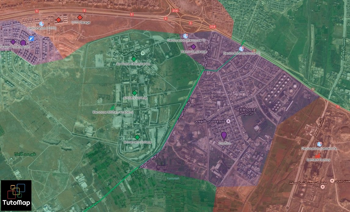 Closer Look at Clashes for Strategic Area of Cement Plant in Southwestern Aleppo (Maps, Photos, Videos)