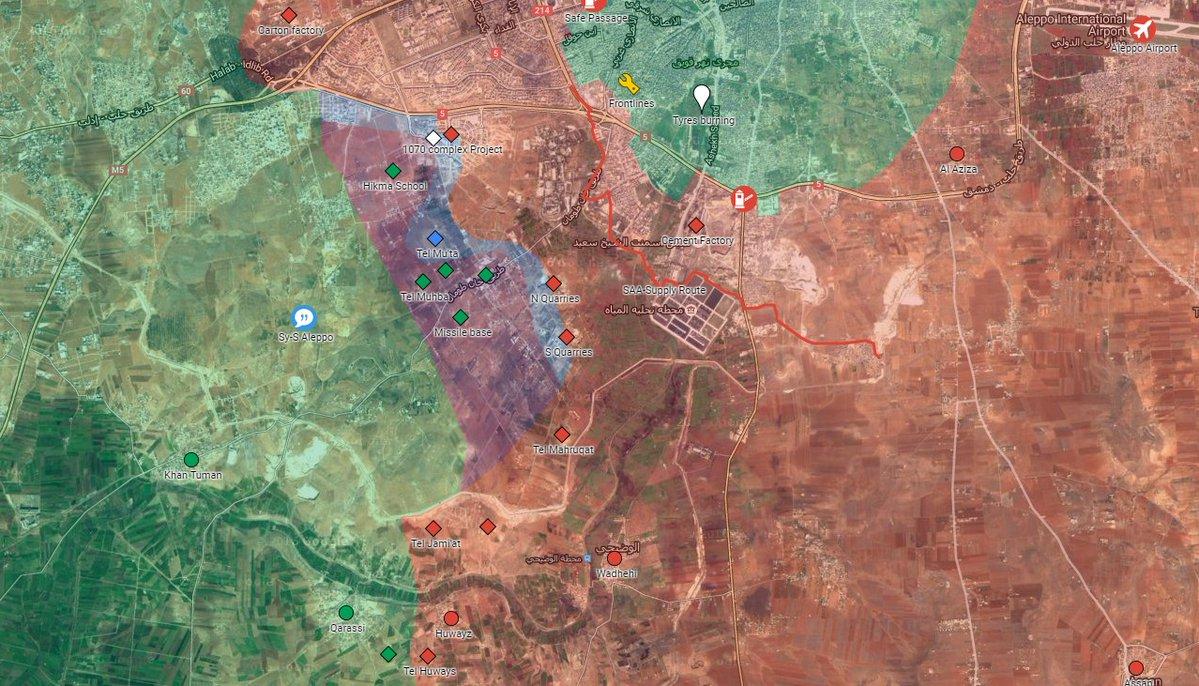 Fresh Jihadists' Attempts to Lift Aleppo Siege Failed