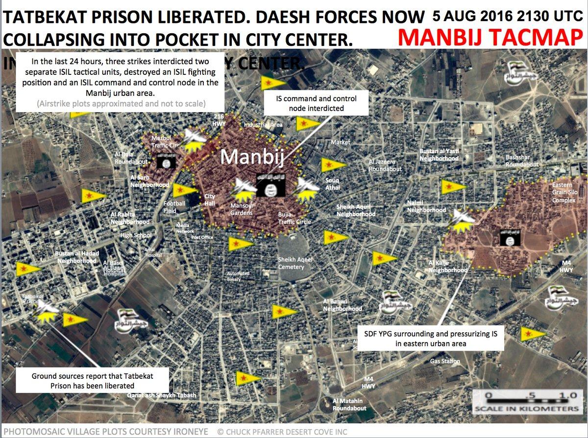 ISIS Collapsing in Manbij