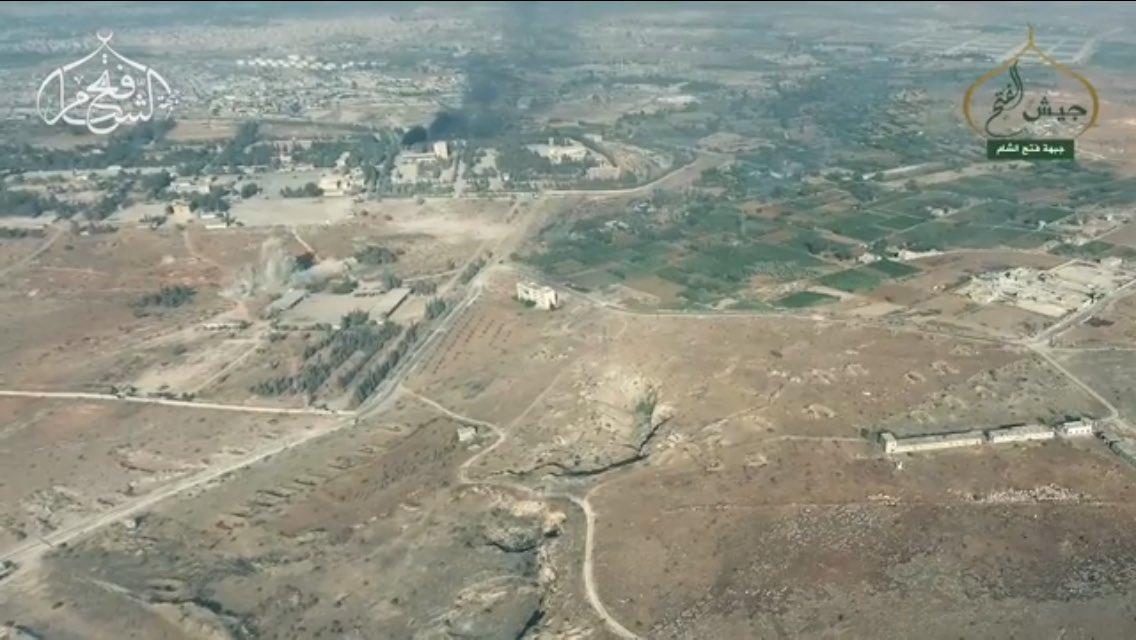 Intense Clashes in Artillery Base in Southern Aleppo (Video, Photos)