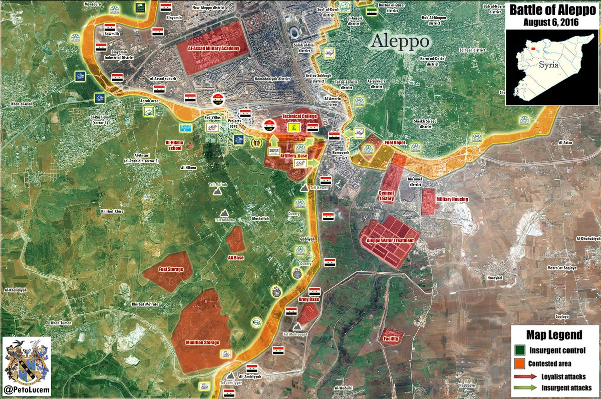 Jihadists Claim to Break Siege of Aleppo, Open Alramousa Road. Govt Forces Deny