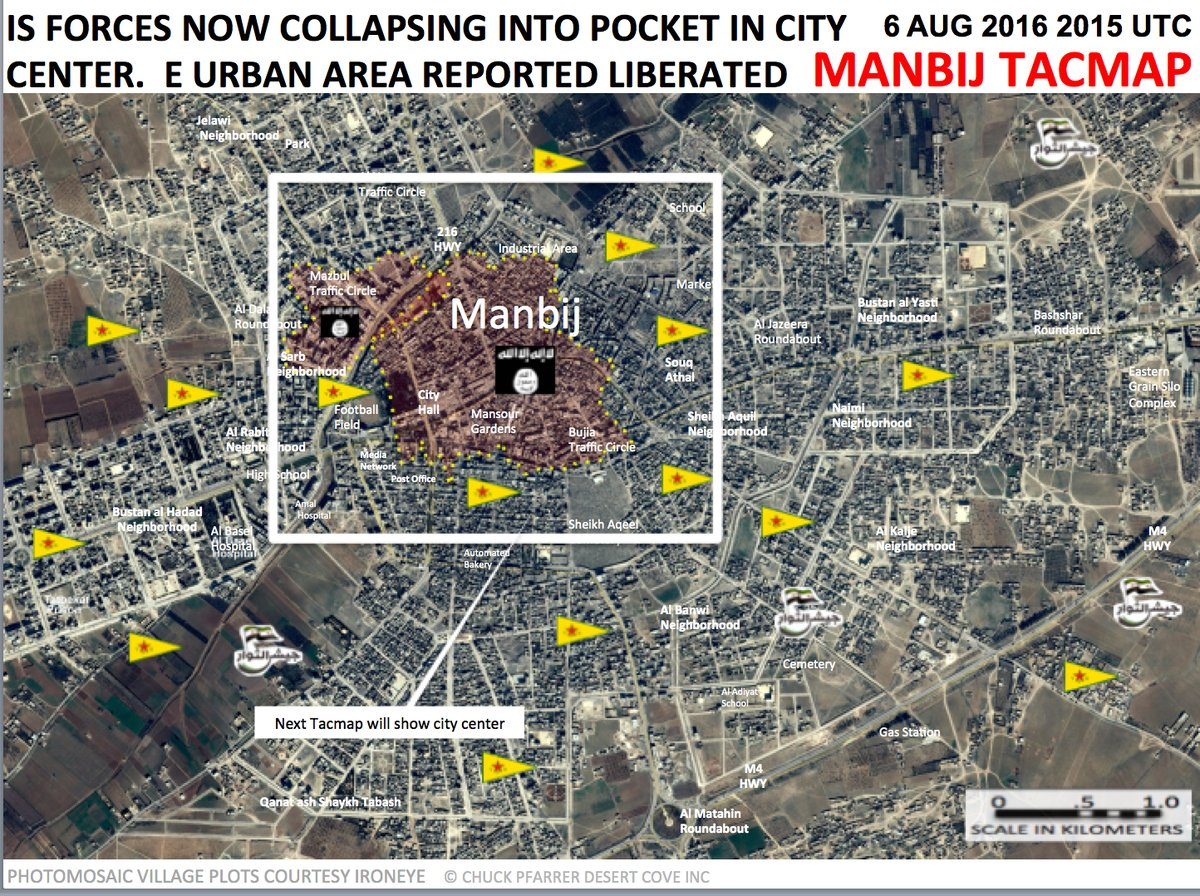 Clashes Ongoing in Manbij Urban Center