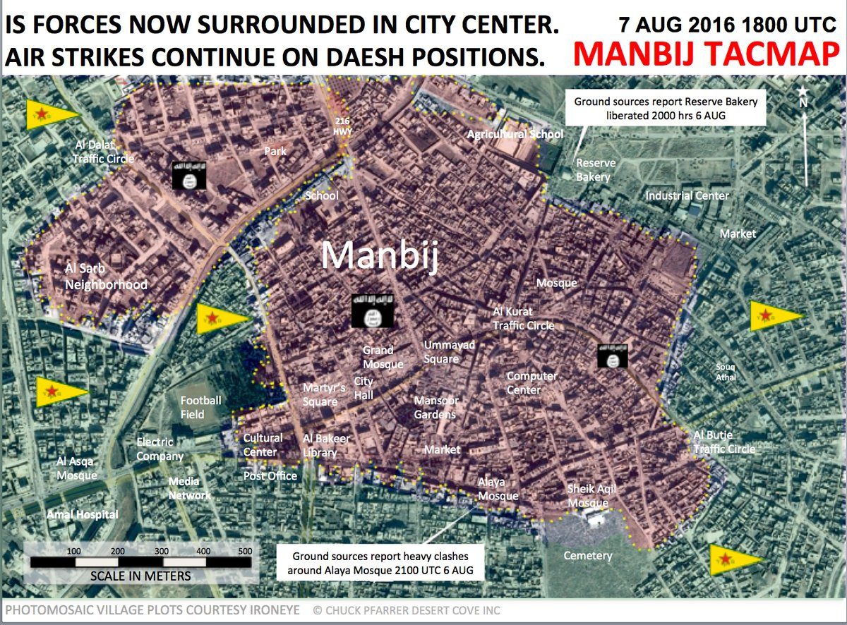Clashes for Manbij City Center