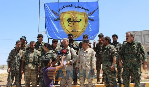 90% of Manbij Is Captured by Syrian Democratic Forces