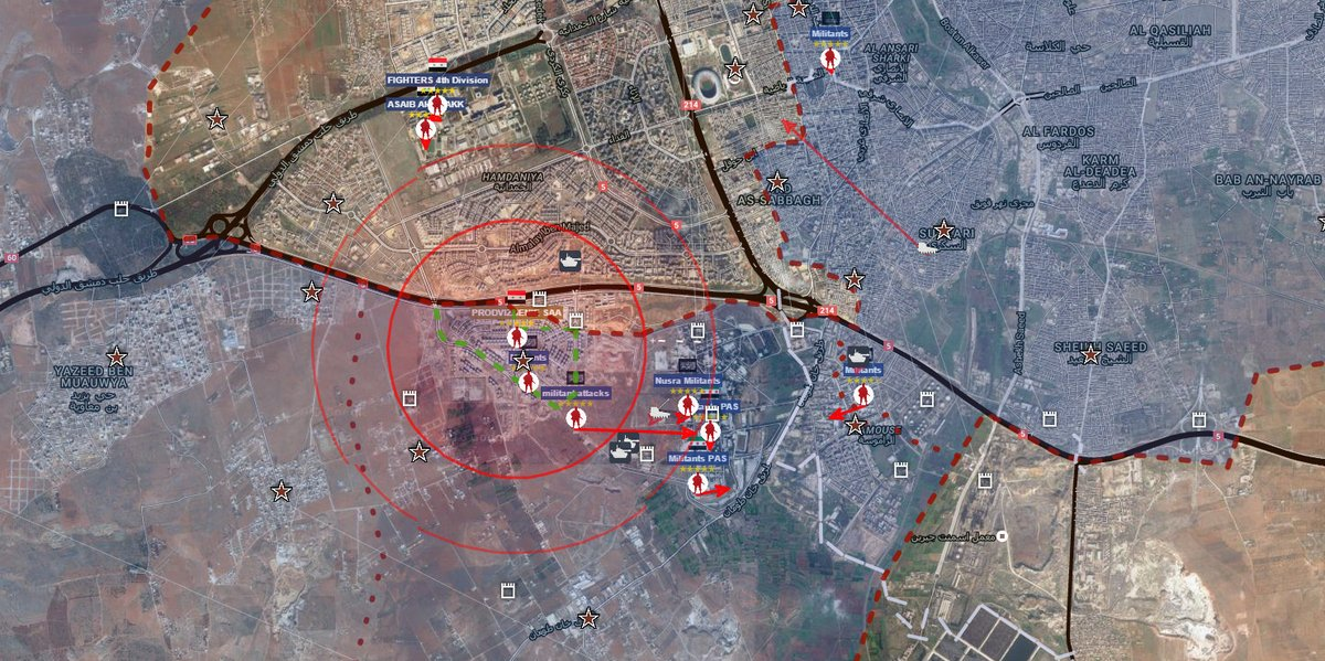 Overview of Military Situation in Aleppo City on August 16-17 (Maps, Photos, Videos)