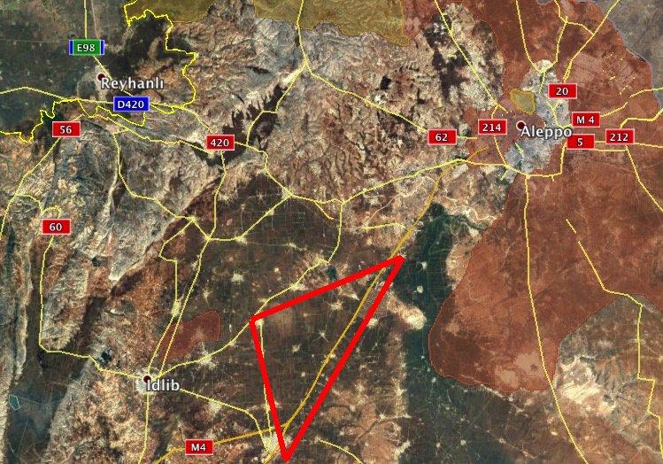 Syrian and Russian Warplanes Huting Jihadists' Reinforcement Convoys