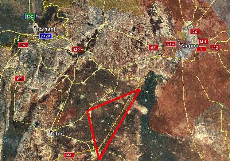 Syrian and Russian Warplanes Huting Jihadists' Reinforcement Convoys