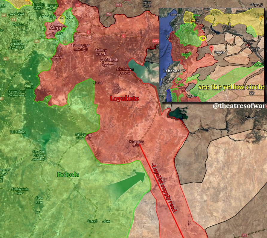 Oreview of Military Situation in Aleppo City on August 11-12 (Maps, Photos)
