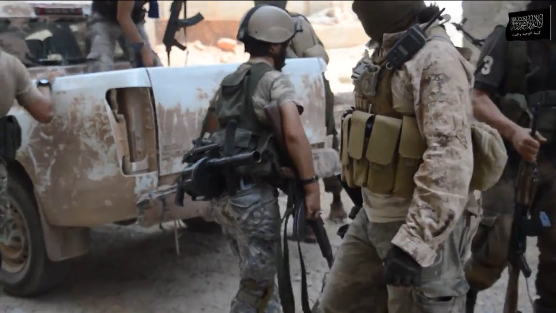 """Foreign Al Qaeda-Linked Jihadists Leading """"Opposition's Offensive"""" in Aleppo City - Fresh Video Evidence"""