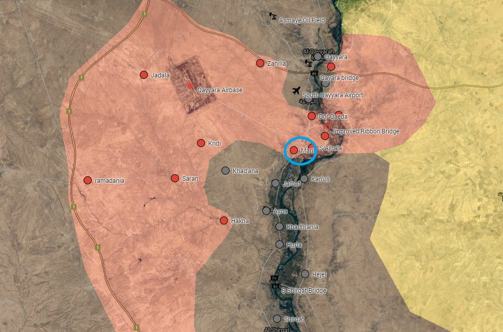 Iraqi Security Forces Liberate More Villages South of Qayyara Airbase