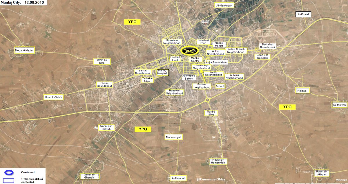Manbij Is Fully Liberated from ISIS