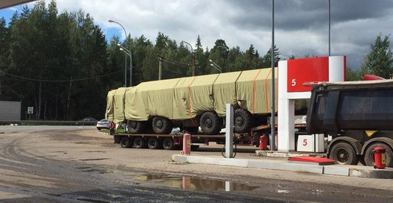Russia Deploys Bastion-P Coastal Defense Missile System near Border with Baltic States (Photo & Video)
