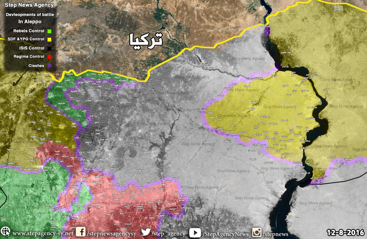 Military Situation in Northern Syria after Liberation of Manbij