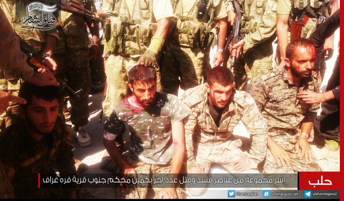 Footage: Turkish-Backed Militants Beating & Torturing Captured SDF Fighters in Northern Syria