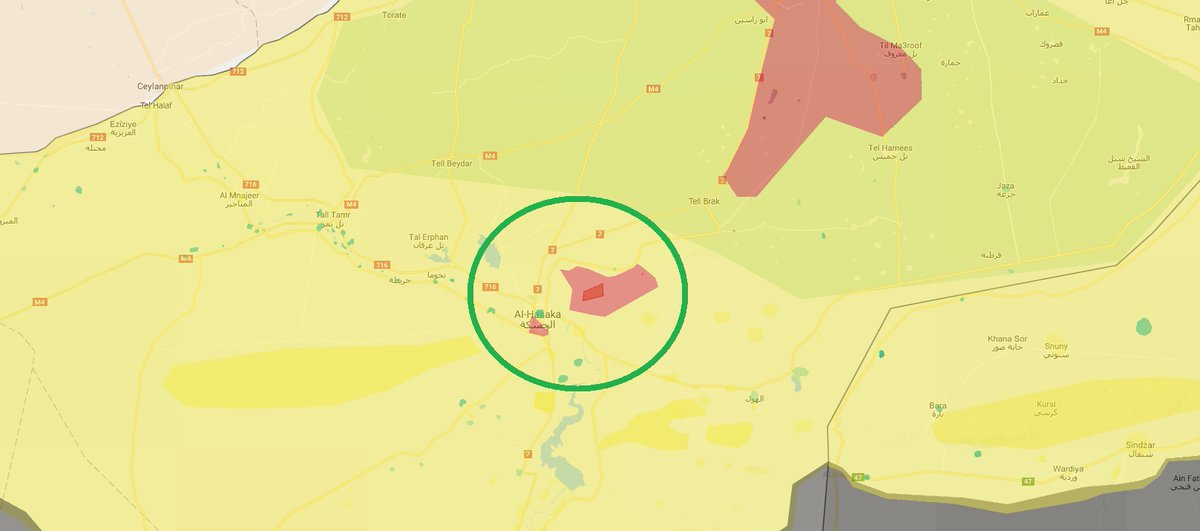 Air Strike Hits HQ of 'Northern Syria Federation' in Al-Hasakah (Photos, Map) - Reports