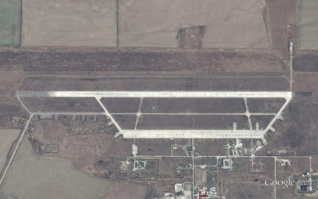 Russia Builds Second Runway at Mozdok Air Base where Tu-22M3 Boombers Were Previously Deployed (Photos)