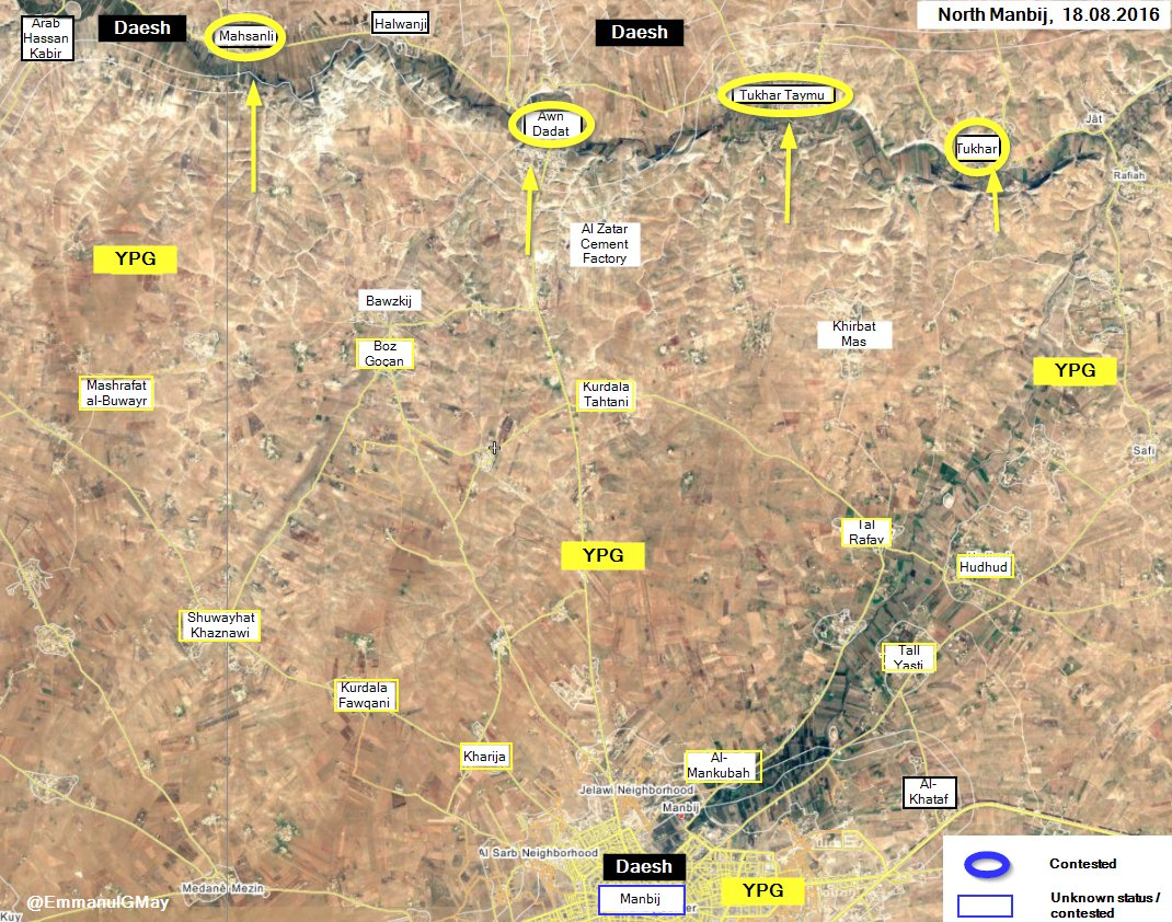 Syrian Democratic Forces Seize 4 more Villages in Northern Syria